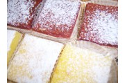 Lemon bar & raspberry Bar