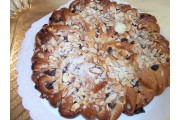 CR_Cinnamon almond raisin coffee ring